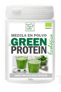 MEZCLA EN POLVO ECOLÓGICA GREEN&PROTEIN