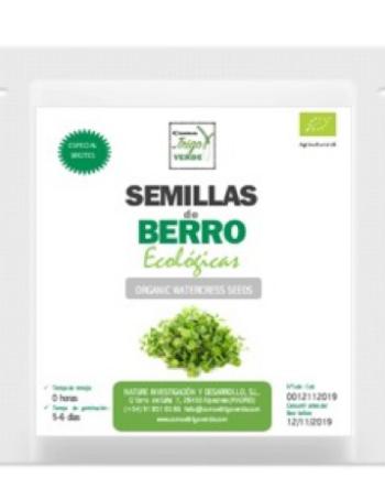 ENVASE DE SEMILLAS DE BERRO ECOLÓGICO