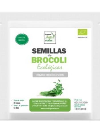 ENVASE DE SEMILLAS DE BROCOLI ECOLÓGICO