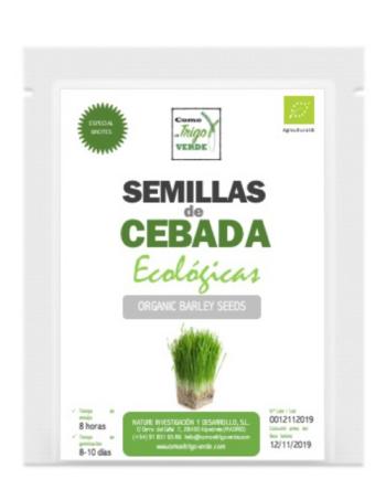 ENVASE DE SEMILLAS DE CEBADA ECOLÓGICA